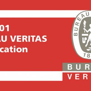 ISO 9001:2015 verlenging van ons certificaat!